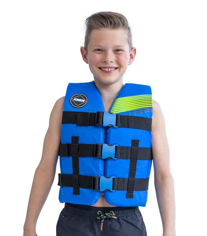 BLUE Nylon Vest Junior - 30/40 kg